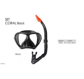 Abysstar set coral black