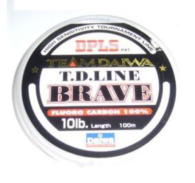 Daiwa T.D. line brave fluorocarbon mt 100 diametro 0,215
