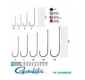Gamakatsu serie 5013F numero 6