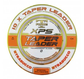 Trabucco t force taper leader 10*15 mt diametro 0,18-0,40