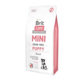 Brit mini puppy agnello kg 2