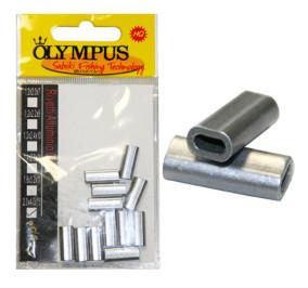 Olympus rivetti alluminio ovali misura 2,0*4,0*15