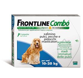Frontline combo 10-20 kg 3 fialette