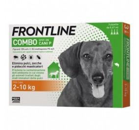 Frontline combo 2-10 kg 3 fialette