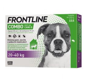 Frontline combo 20-40 kg 3 fialette