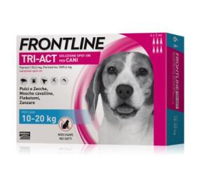 Frontline tri act 10-20 kg 6 fialette