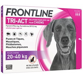 Frontline tri act 20-40 kg 6 fialette