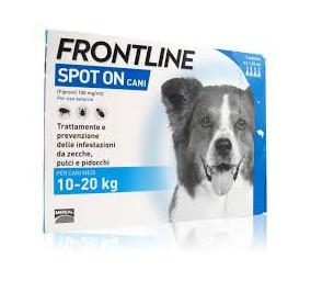 Frontline spoton 10-20 kg 4 fialette