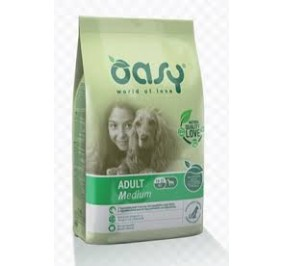 Oasy dry dog adult medium pollo kg 3