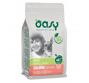 Oasy dry dog adult salmone mini kg 2,5