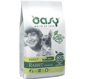 Oasy dry dog coniglio mini kg 2,5