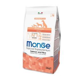 Monge all breed adult salmone e riso kg 2,5