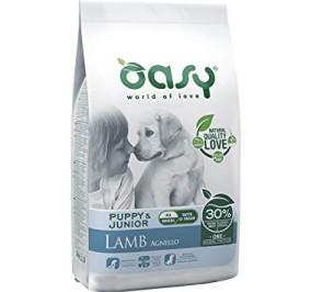 Oasy dry dog puppy e junior medium/large agnello kg 2,5