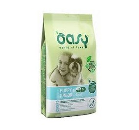 Oasy dry dog puppy e junior small pollo kg 3