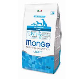 Monge all breeds adult light salmone kg 2,5