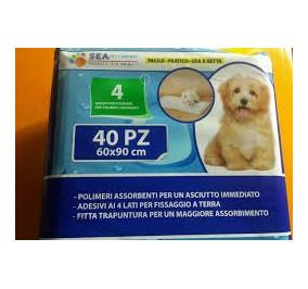 Sea pet company Tappetino 60*90 confezione da 40 pezzi