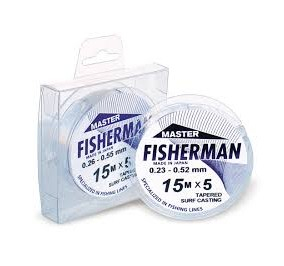 Fisherman mis. 0,23/0,52 mt15*5 pz.