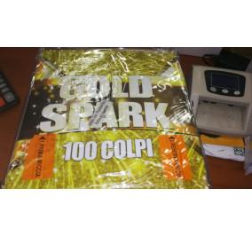New pirotecnica 2000 gold spark 100 colpi