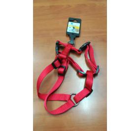 Pettorina doppia regolabile cm 40 rossa