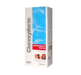 Clorexyderm shampoo forte ml 200