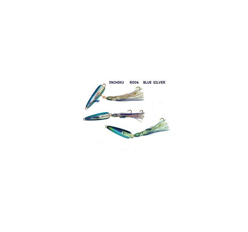 BLUE INCHIKU  JIG SALTY RUBBER  R006-150 GR VINCENT