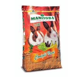 Manitoba coniglietto premium con frutta e carote kg 15