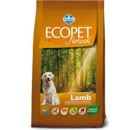 Ecopet natural agnello kg 12