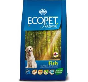Ecopet natural pesce kg 12