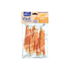 Life dog deli snack stick con pollo arrotolato gr 100