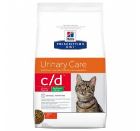 Hill's c/d urinary stress reduced calorie kg 4