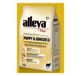 Alleva plus puppy e junior agnello kg 12