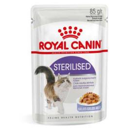 Royal canin sterilised jelly gr 85