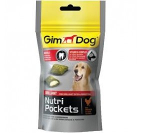Gimborn nutri pockets brillant con pollo gr 45