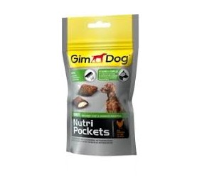 Gimborn nutri pockets shine con pollo gr 45