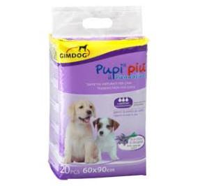Gimborn pannolino pupi piu' profumazione lavanda 60*90 pezzi 20
