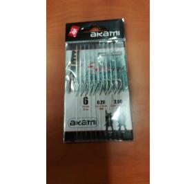 Akami ami legati serie 1092 NI numero 6 filo numero 0,20 lunghezza 2 mt