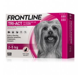 Frontline tri act 2-5 kg 6 fialette