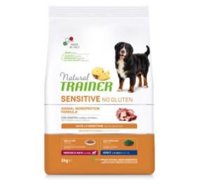 Natural trainer sensitive anatra e cereali integrali kg 3