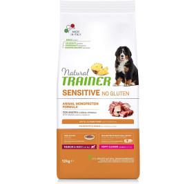 Natural trainer sensitive puppy anatra e cereali integrali kg 3