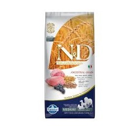 N/D ancestral medium agnello e mirtillo kg 2,5