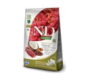N/D skin e coat all breeds anatra, quinoa, cocco e curcuma kg 2,5