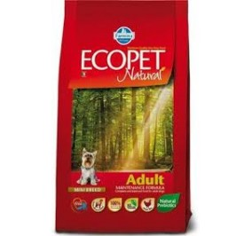Ecopet natural mini pollo kg 12