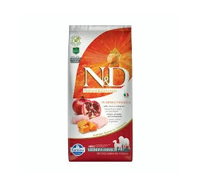 N/D pumpkin adult pollo, zucca e melograno kg 12