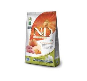 N/D pumpkin medium e maxi cinghiale, zucca e mela kg 12