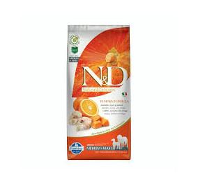 N/D pumpkin medium e maxi merluzzo, zucca e arancia kg 12