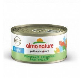 Almo nature gr 70 pollo con aloe light