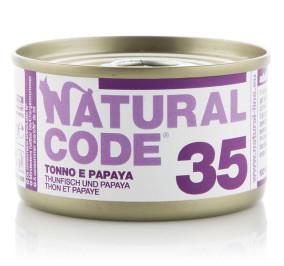 Natural code tonno e papaya gr 85