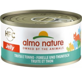 Almo nature gr 70 jelly trota e tonno