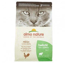 Almo nature holistic anti hairbaal pollo gr 400