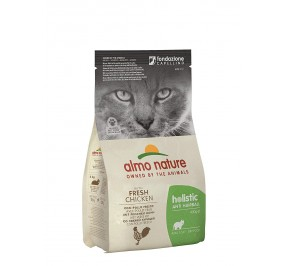 Almo nature holistic anti hairball pollo kg 2